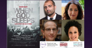 When God Sleeps–Film Screening and Discussion