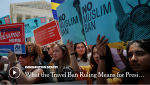 NYT: Trump's Travel Ban Is Upheld by Supreme Court