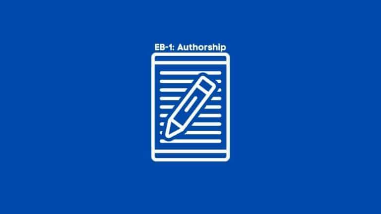 EB-1 Criteria: Authorship of Scholarly Articles