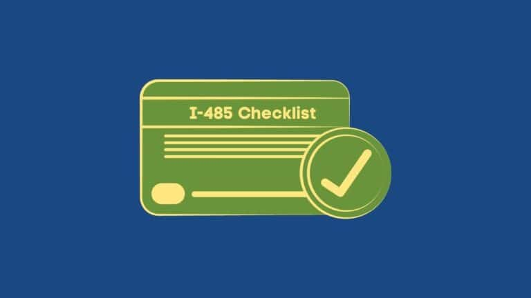 Documents Checklist for Adjustment of Status Interview