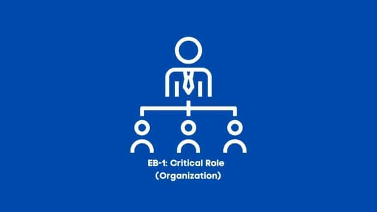 Eb-1: Evidence of Your Performance of a Leading or Critical Role in Distinguished Organizations