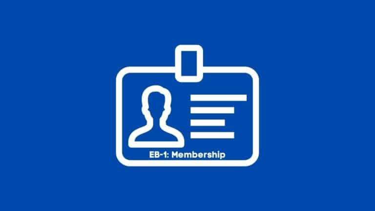 Eb-1: Membership in Associations in the Field for Which Classification Is Sought