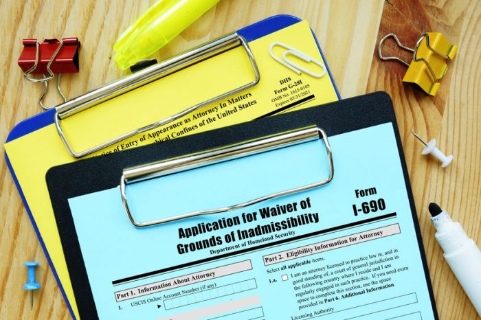 waiver of grounds of inadmissibility