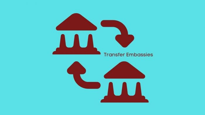 How to Transfer a Us Immigration Case to Another Embassy