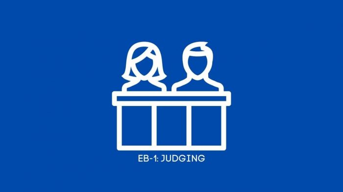 EB-1: Participation as a judge of the work of others